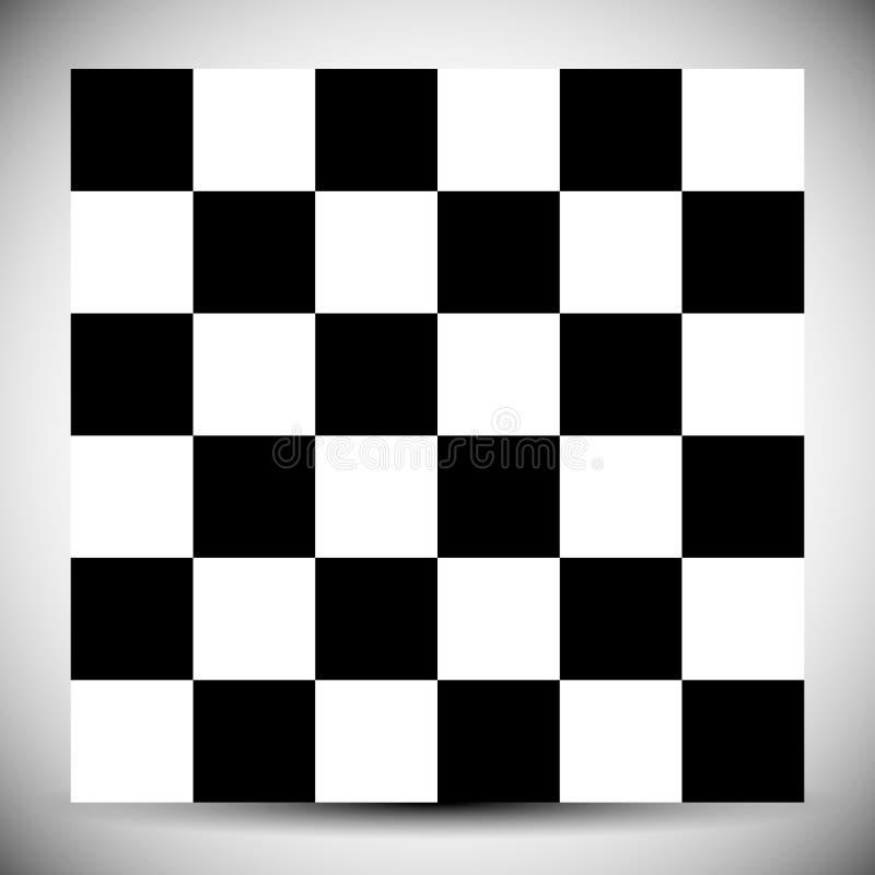 Teste padrão geométrico quadriculado Teste padrão incolor abstrato com squ ilustração royalty free