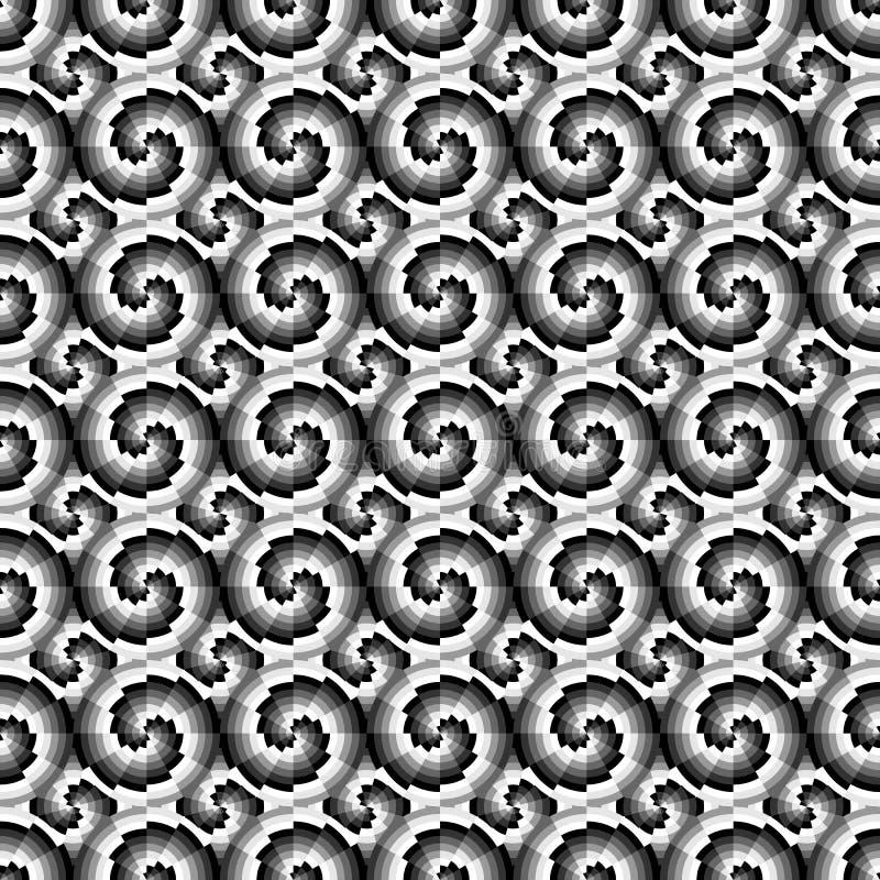 Teste padrão geométrico sem emenda ilustração stock