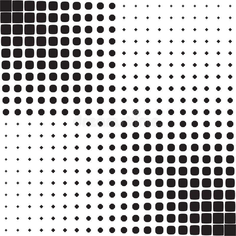 Teste padrão geométrico sem emenda abstrato das figuras ilustração do vetor
