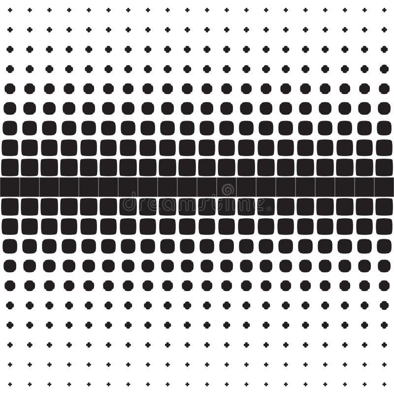 Teste padrão geométrico sem emenda abstrato das figuras ilustração royalty free