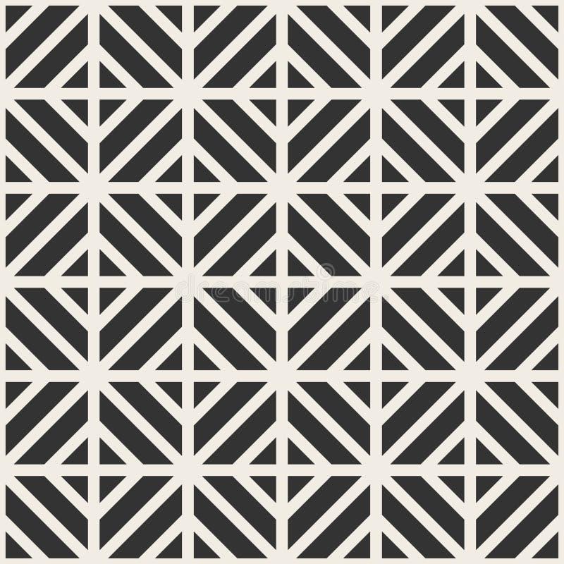 Teste padrão geométrico sem emenda do vetor Fundo creativo abstrato ilustração do vetor