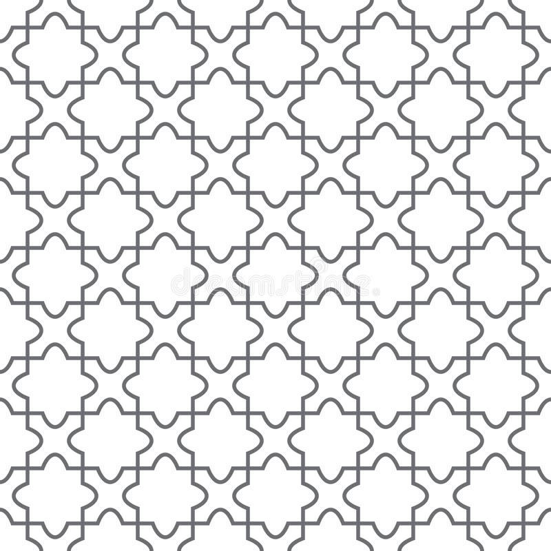 Teste padrão geométrico simples do vetor - assoalho ilustração stock