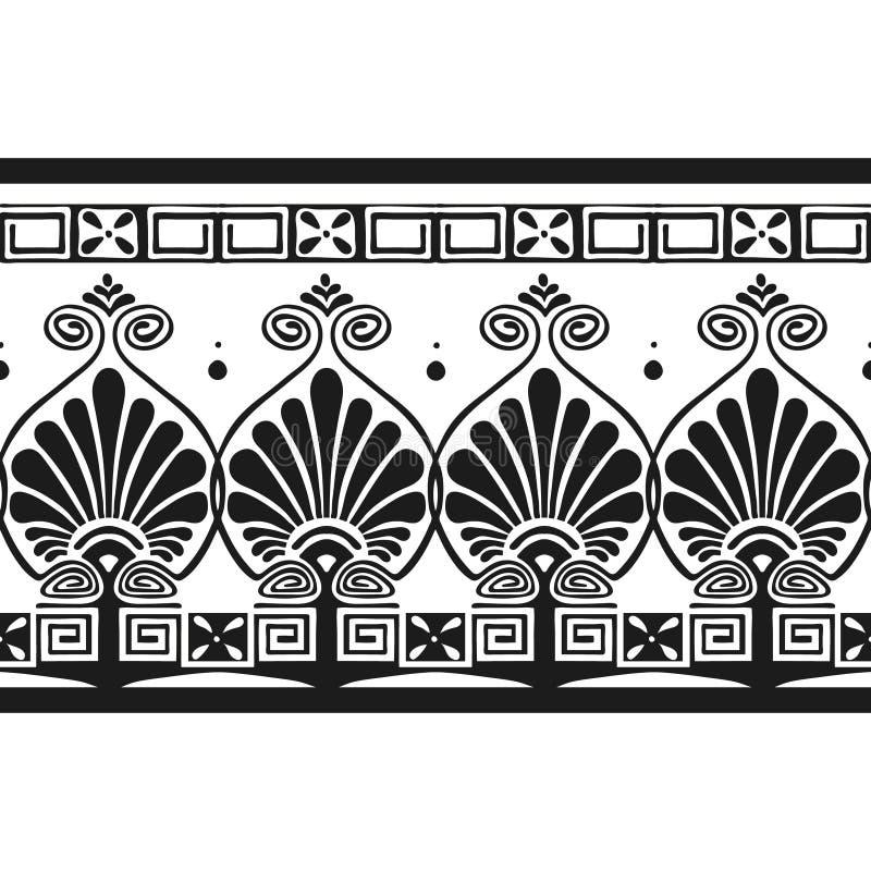 Teste padrão grego ilustração royalty free