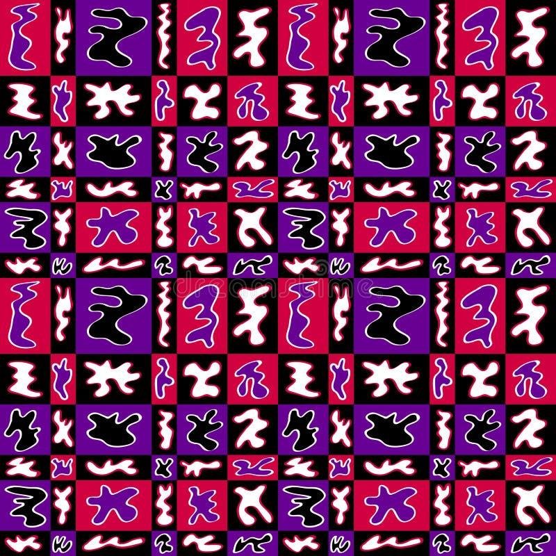 Teste padrão Groovy do ritmo ilustração do vetor