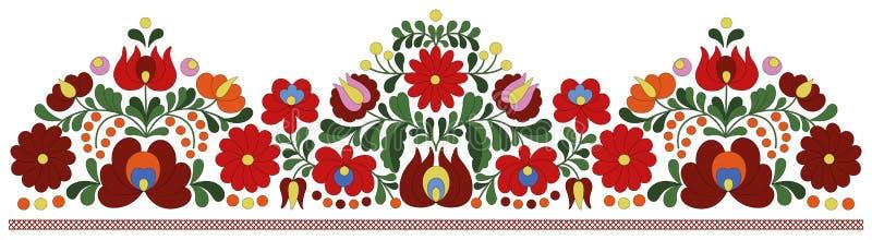 Teste padrão húngaro da beira do bordado