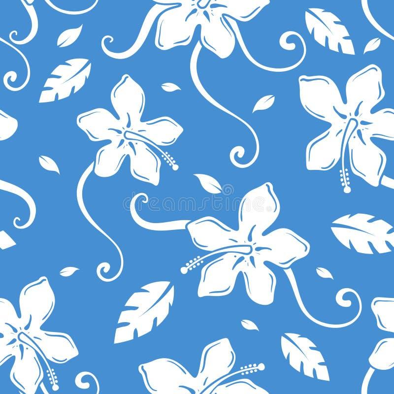 Teste padrão havaiano ilustração royalty free
