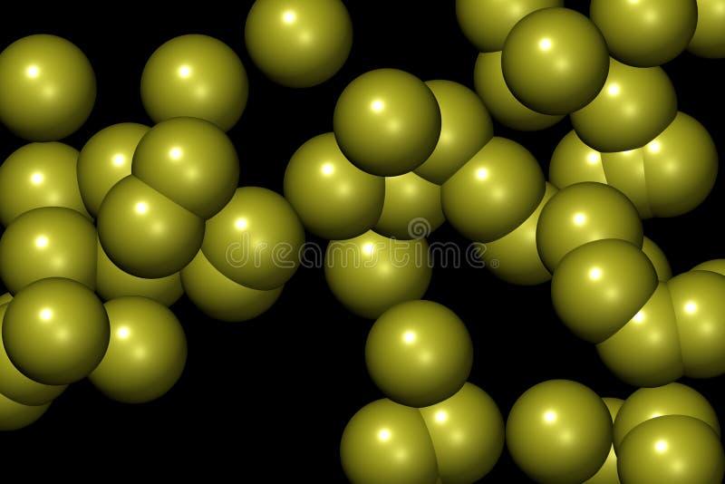 Teste padrão IV das esferas ilustração royalty free