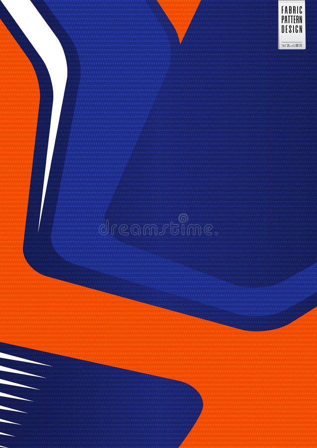Teste padrão líquido de matéria têxtil da tela do sportswear para o jérsei de futebol, o jogo do futebol, ou o uniforme do esport ilustração do vetor