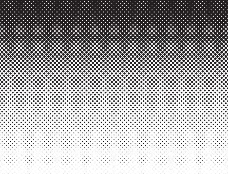 Teste padrão liso branco preto do inclinação do estilo da banda desenhada ilustração stock
