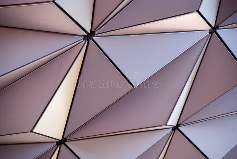 Teste padrão metálico fotografia de stock