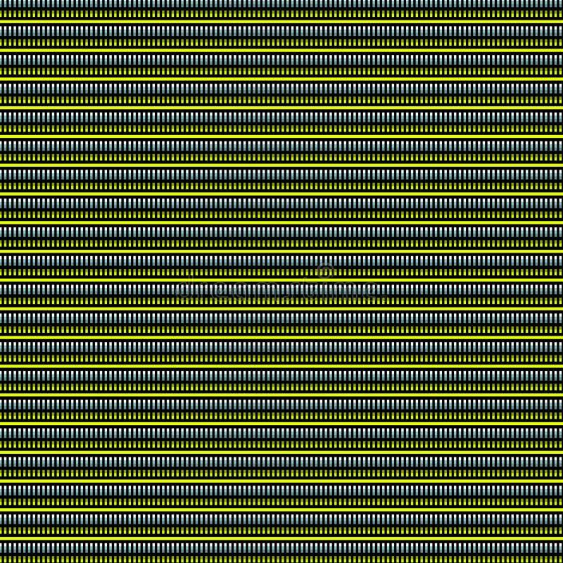 Teste padrão moderno da forma de pano da câmara de ar do techno do jogo ilustração royalty free
