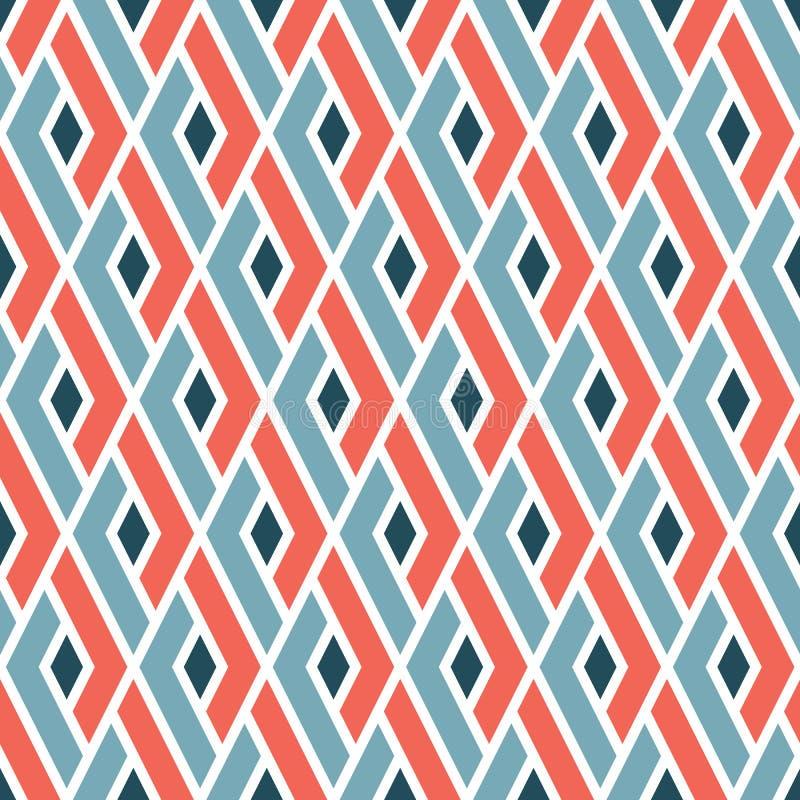 Teste padrão moderno geométrico tradicional japonês original ilustração stock