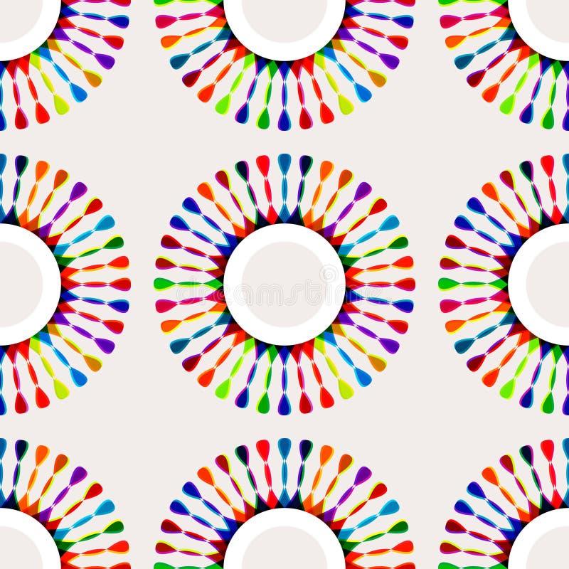 Teste padrão multicolorido imagens de stock royalty free