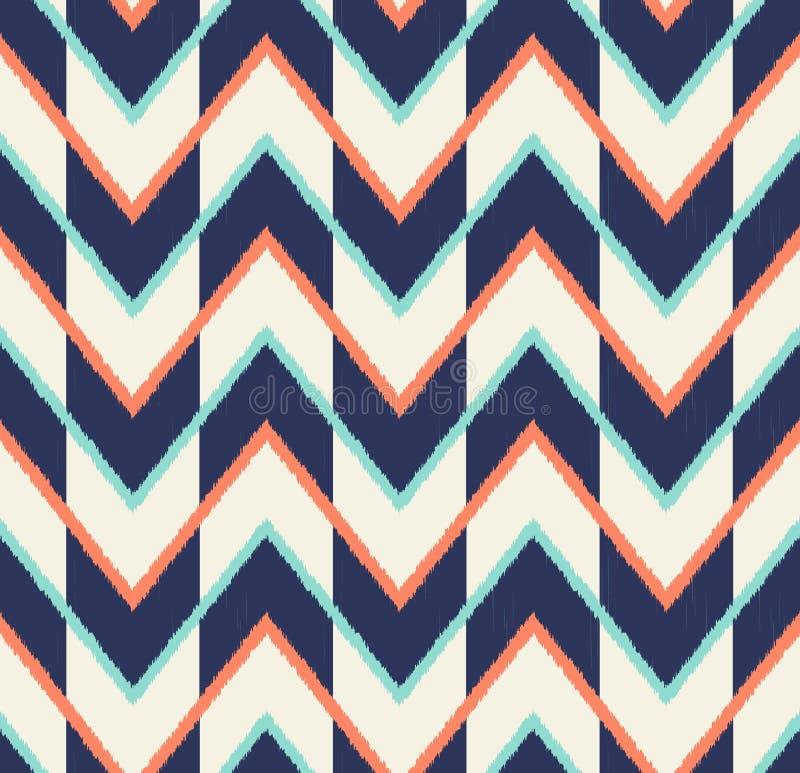 Teste padrão multicolorido sem emenda da seta ilustração stock