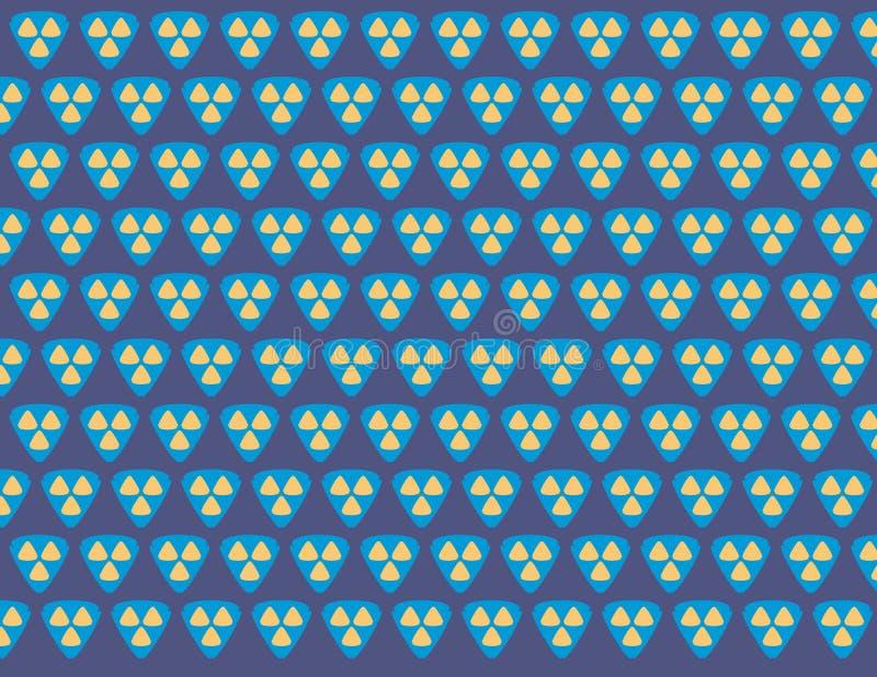Teste padrão na moda geométrico para a forma 2 ilustração stock