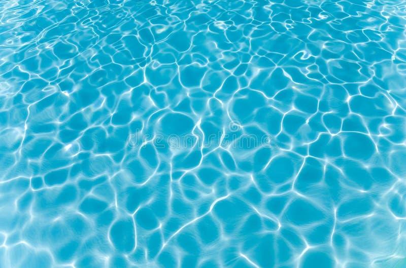 Teste padrão no fundo da piscina foto de stock