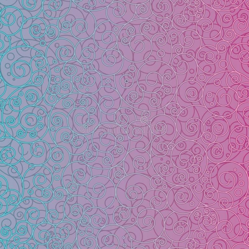 Teste padrão ornamentado ilustração do vetor