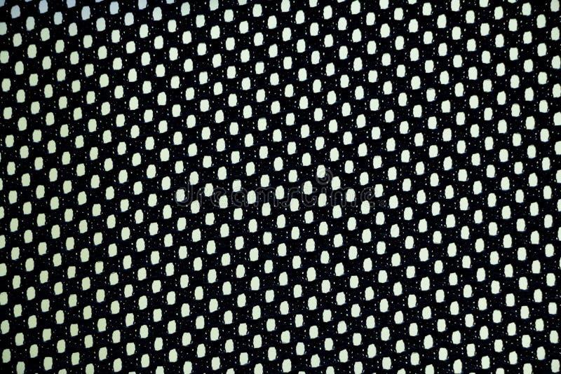 Teste padrão plástico da tela de weave fotos de stock