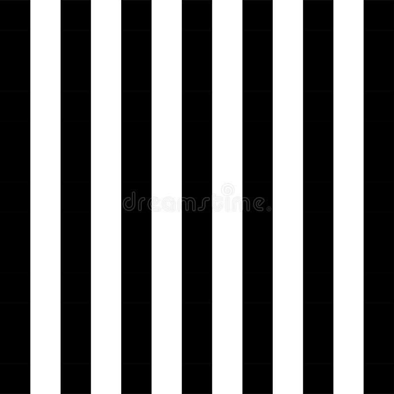 Teste padrão preto e branco para o fundo clássico ilustração do vetor
