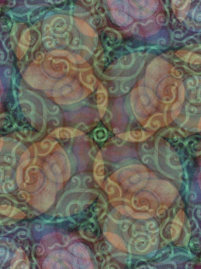 Teste padrão rústico Earthy das texturas fotos de stock