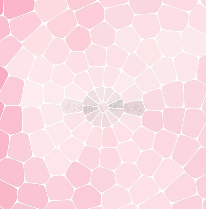 Teste padrão retro abstrato de formas geométricas Contexto colorido do mosaico do inclinação ilustração do vetor