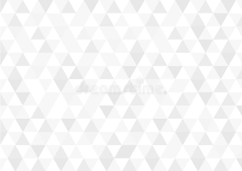 Teste padrão retro abstrato de formas geométricas Contexto colorido do mosaico do inclinação Fundo triangular do moderno geométri ilustração stock