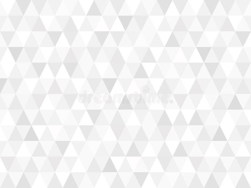 Teste padrão retro abstrato de formas geométricas Inclinação colorido mo ilustração do vetor