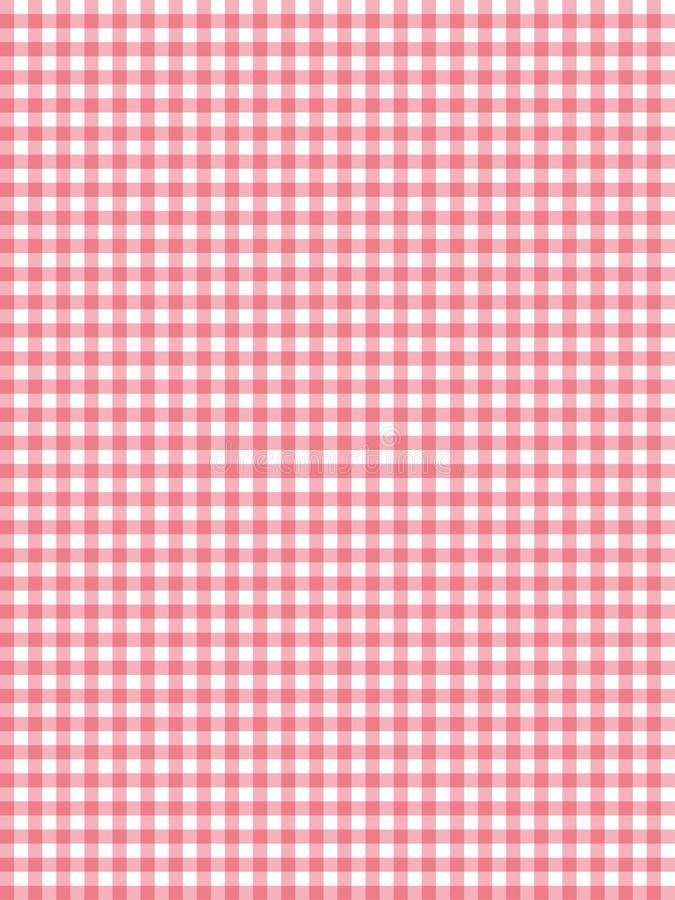 Teste padrão retro com vermelho ilustração stock