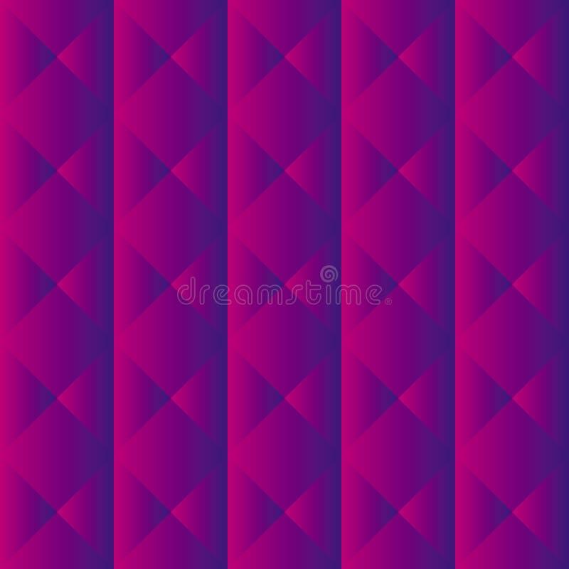 Teste padrão roxo de upholstery ilustração do vetor