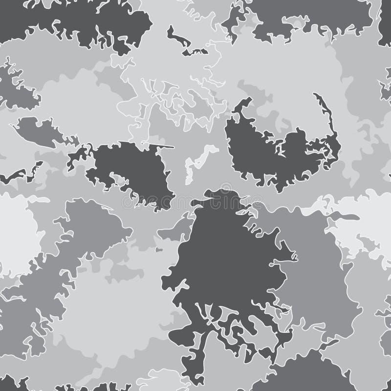 Teste padrão sem emenda abstrato ilustração do vetor