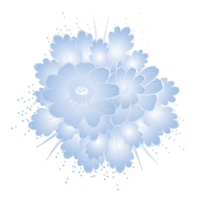 Teste padrão sem emenda abstrato com fundo floral ilustração royalty free