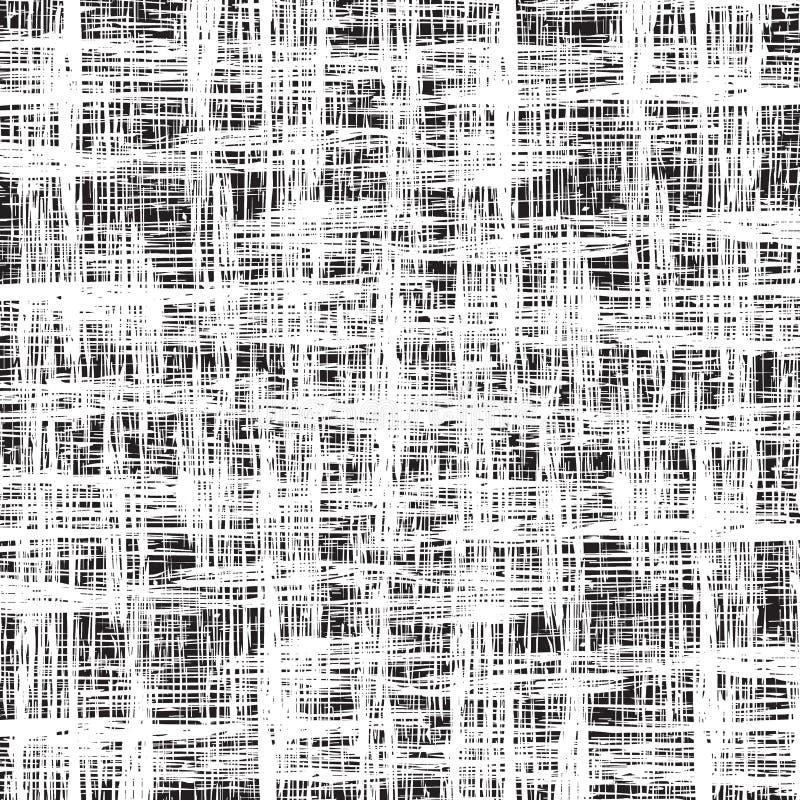Teste padrão sem emenda abstrato da textura do grunge ilustração royalty free