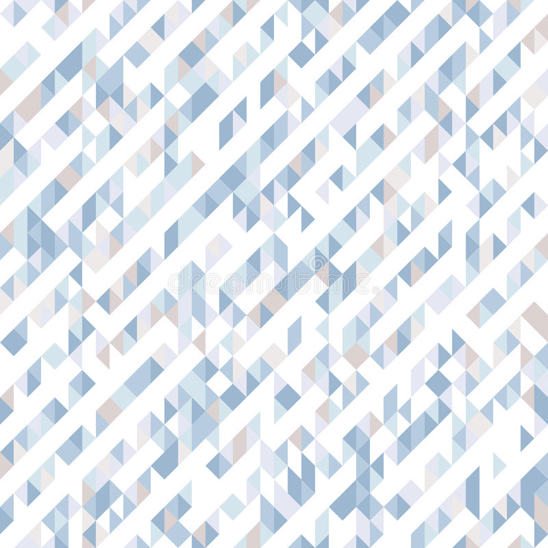 Teste padrão sem emenda abstrato dos triângulos Máscaras e inclinações de formas geométricas ilustração royalty free
