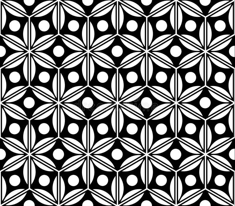 Teste padrão sem emenda abstrato Fundo da tecelagem geométrica abstrata Teste padrão sem emenda do illustrationAbstract do vetor  ilustração stock