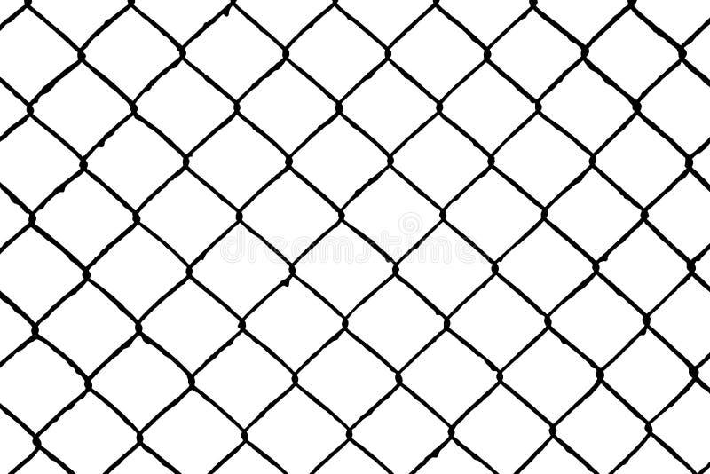 Teste padrão sem emenda abstrato, grade do fio ilustração do vetor