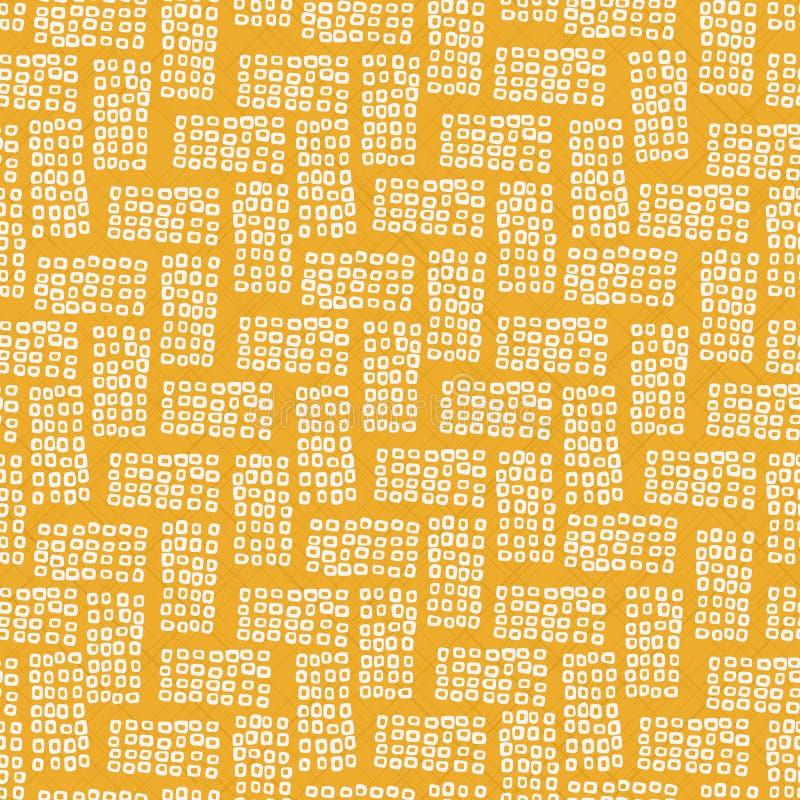 Teste padrão sem emenda abstrato Motivo de Shibori do japonês ilustração royalty free