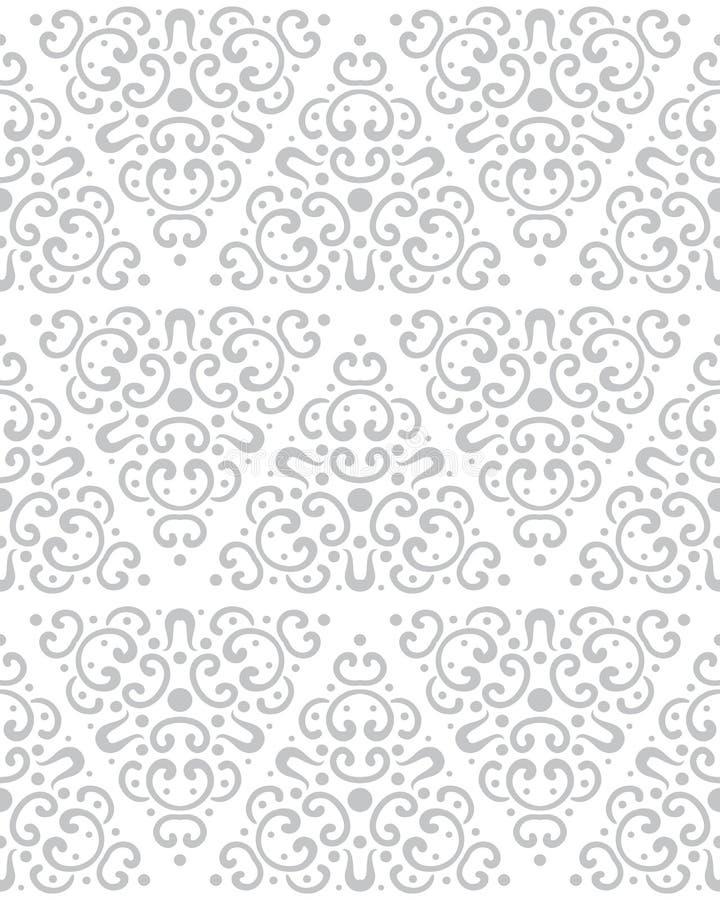 Teste padrão sem emenda abstrato no estilo do vintage Formas e texturas de bloqueio ilustração royalty free