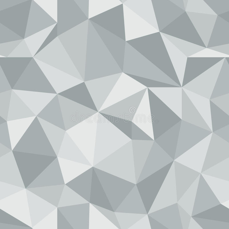 Teste padrão sem emenda brilhante Fundo do vetor do triângulo do diamante ilustração do vetor