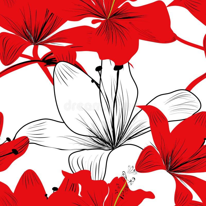Teste padrão sem emenda colorido ilustração royalty free