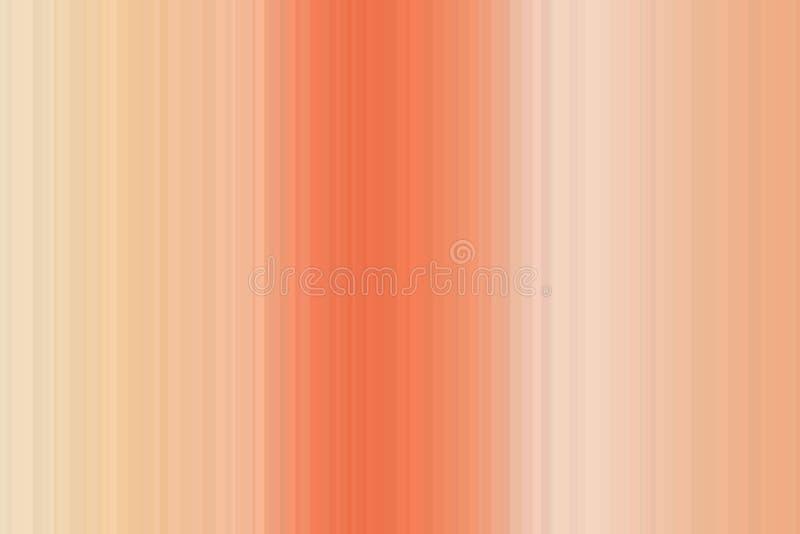 Teste padrão sem emenda colorido das listras do borrão liso do inclinação Fundo abstrato da ilustração Cores modernas à moda da t ilustração stock