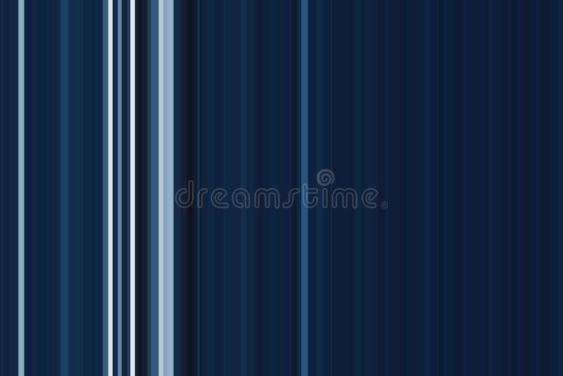 Teste padrão sem emenda colorido escuro azul das listras Fundo abstrato da ilustração Cores modernas à moda da tendência ilustração royalty free