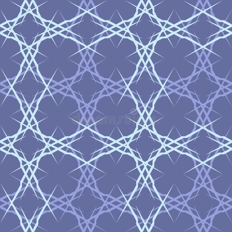teste padrão sem emenda com formas e símbolos geométricos ilustração royalty free