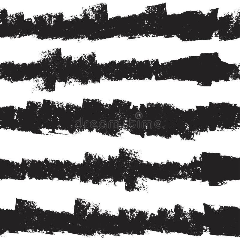 Teste padrão sem emenda com grunge original ilustração royalty free