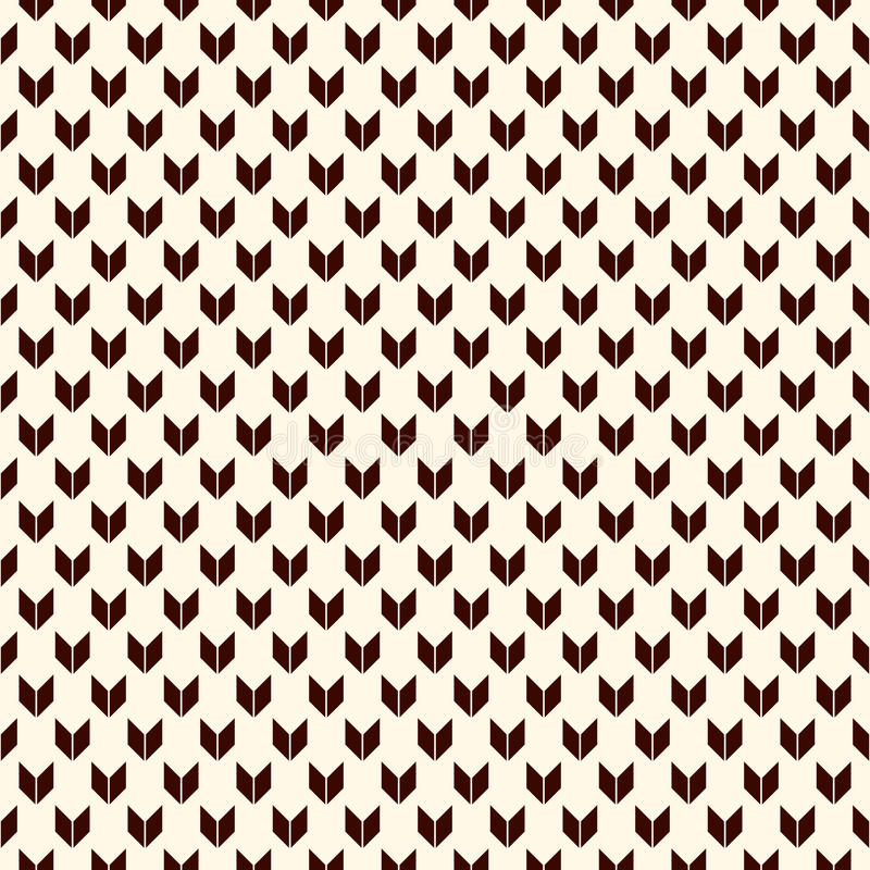 Teste padrão sem emenda com motivo das setas Mini suportes de ângulo repetidos Papel de parede das vigas Fundo abstrato minimalis ilustração do vetor