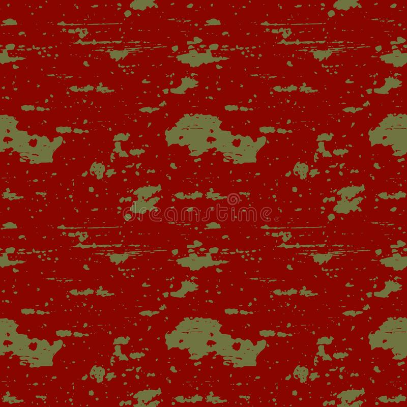 Teste padrão sem emenda com textura da pintura gasto ilustração do vetor
