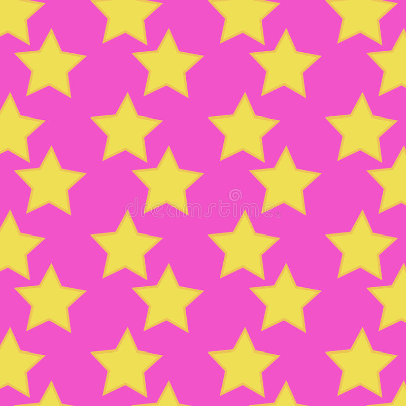 Teste padrão sem emenda cor-de-rosa ilustração stock