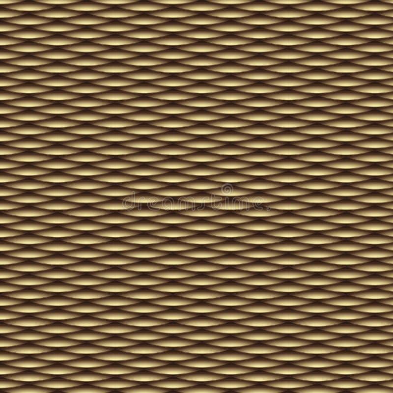 Teste padrão sem emenda da arte de madeira do vetor ilustração stock