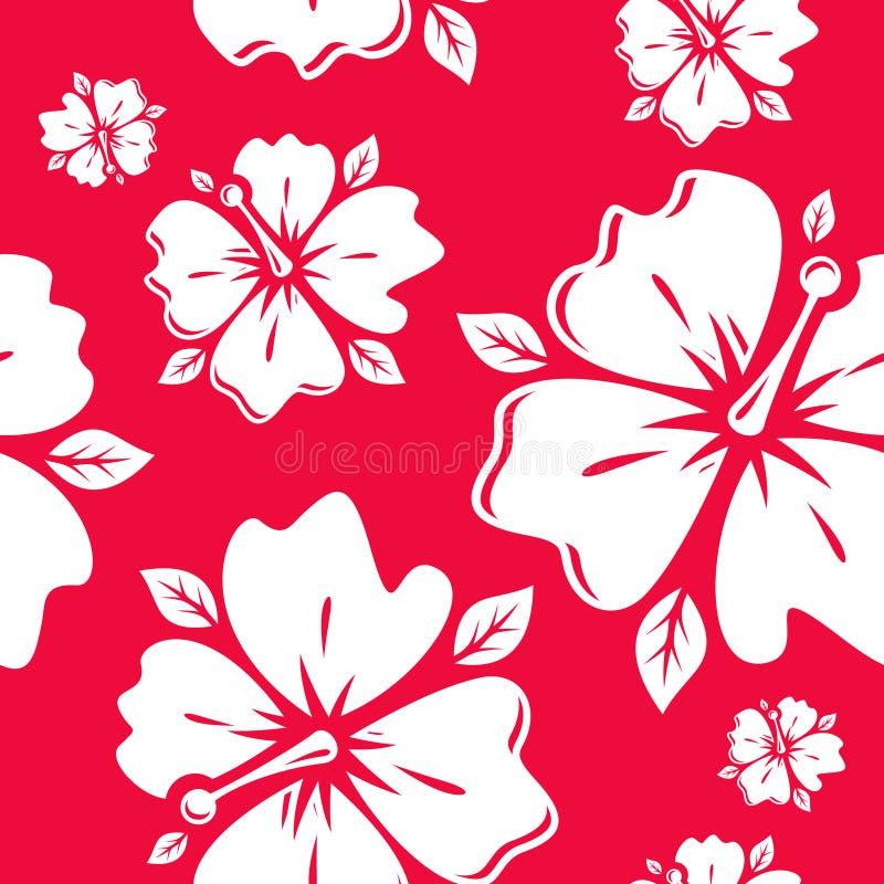 Teste padrão sem emenda da flor do vetor ilustração royalty free