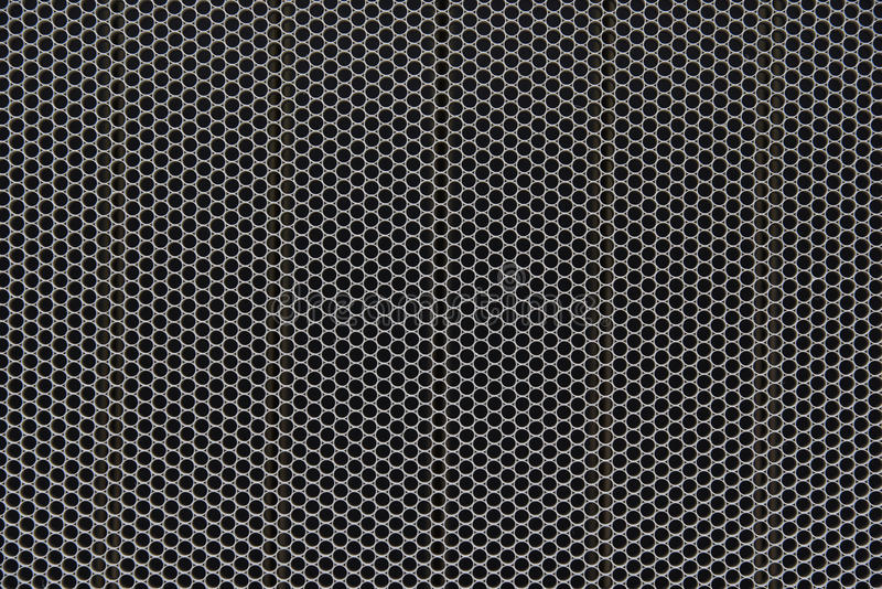 Teste padrão sem emenda da grade do círculo com pilha pequena ilustração royalty free