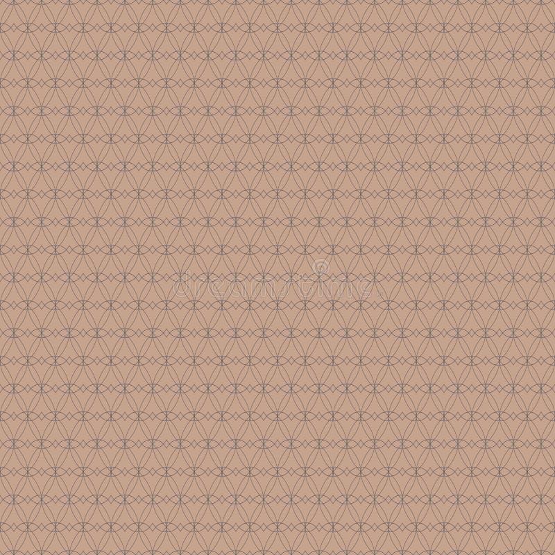 Teste padrão sem emenda da grade Fundo abstrato geométrico Projeto gráfico da forma Ilustração do vetor Projeto do fundo Stylis m ilustração stock
